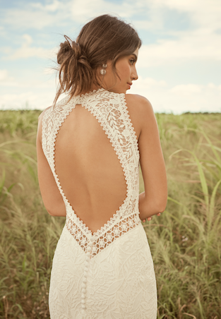 Belinda Wedding dress by Rebecca Ingram