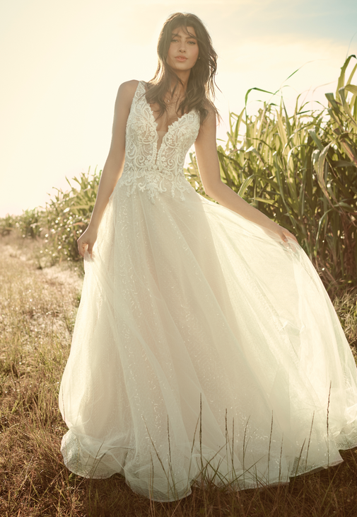Melissa Wedding dress by Rebecca Ingram