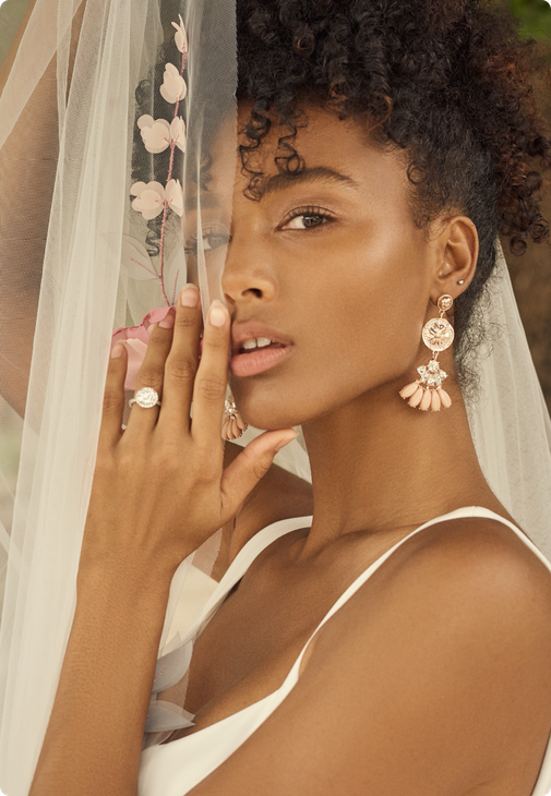 Alanis Earring Bridal Jewelry by Maggie Sottero x A'El Este