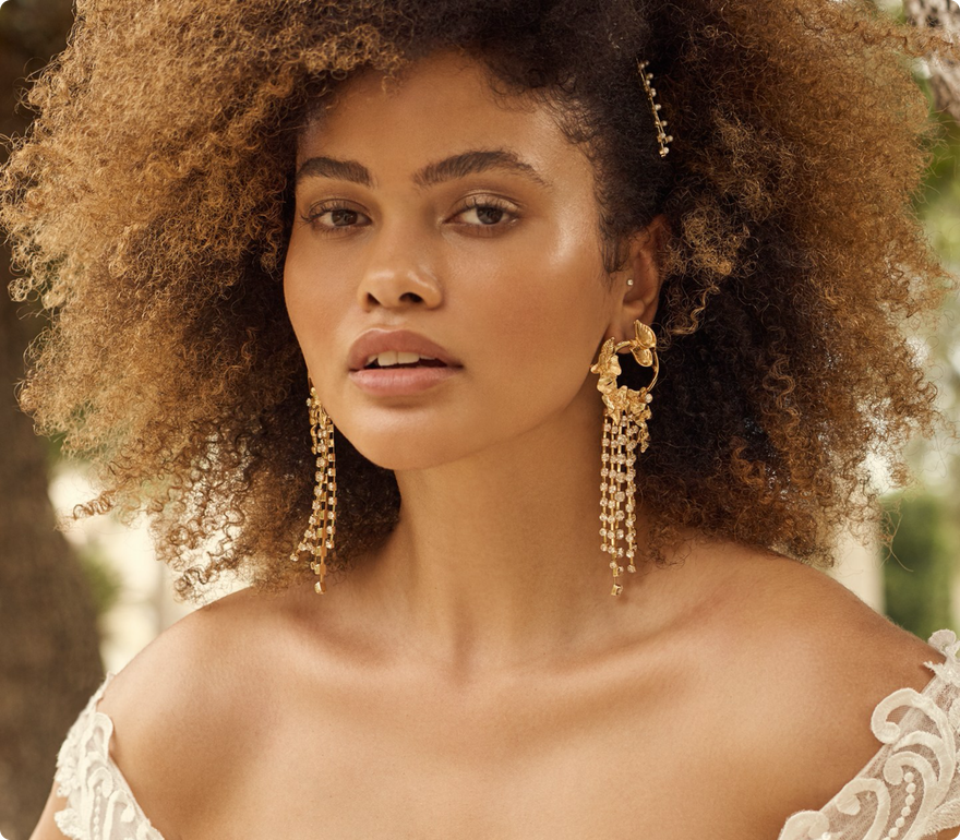 Florentina Earring Bridal Jewelry by Maggie Sottero x A'El Este