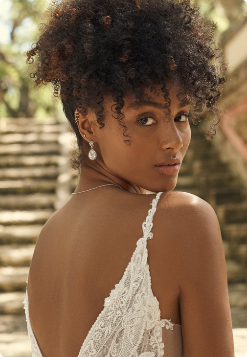 Seraphine Earring Bridal Jewelry by Maggie Sottero x A'El Este