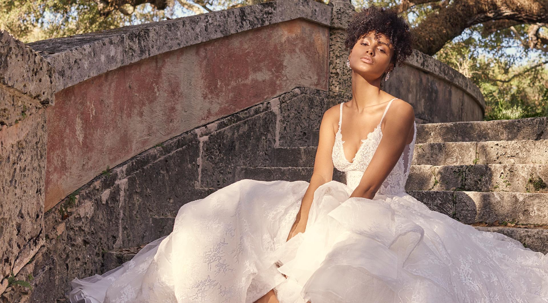 Yuri Wedding dress by Maggie Sottero