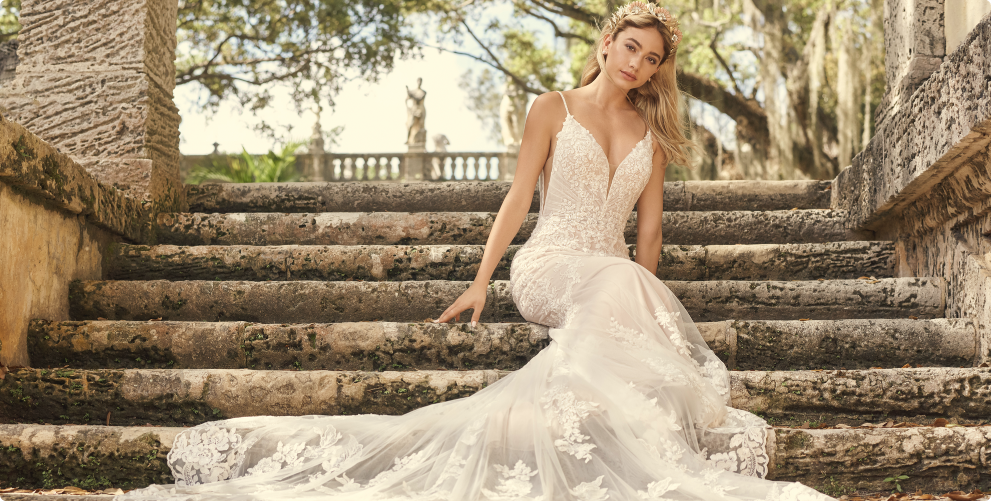 Fontaine Wedding dress by Maggie Sottero