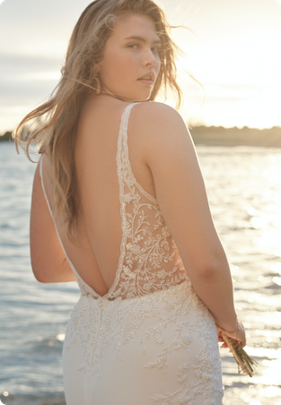 Carmen-Lynette Wedding dress by Rebecca Ingram