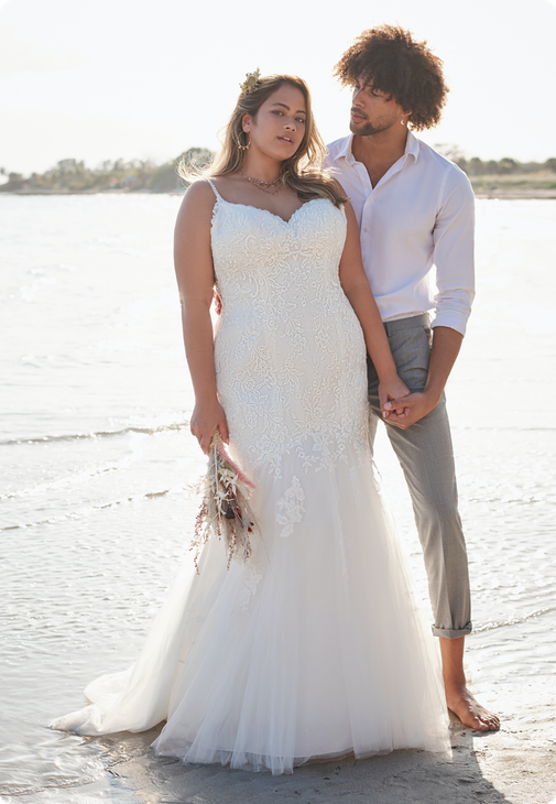 Forrest Lynette Wedding dress by Rebecca Ingram