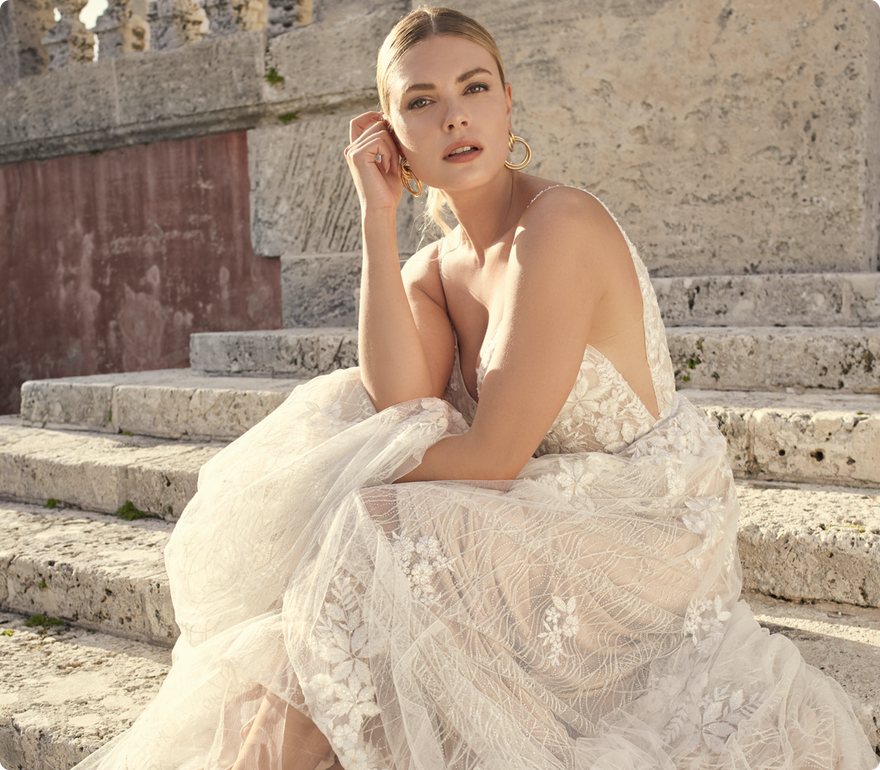 Laramie Dawn Wedding dress by Sottero and Midgley