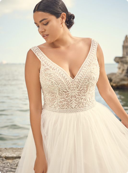 Priyanka Wedding dress by Sottero and Midgley