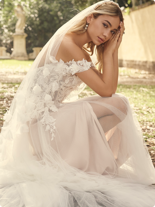 Wedding dresses by Maggie Sottero
