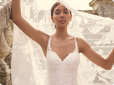Wedding dresses by Sottero and Midgley