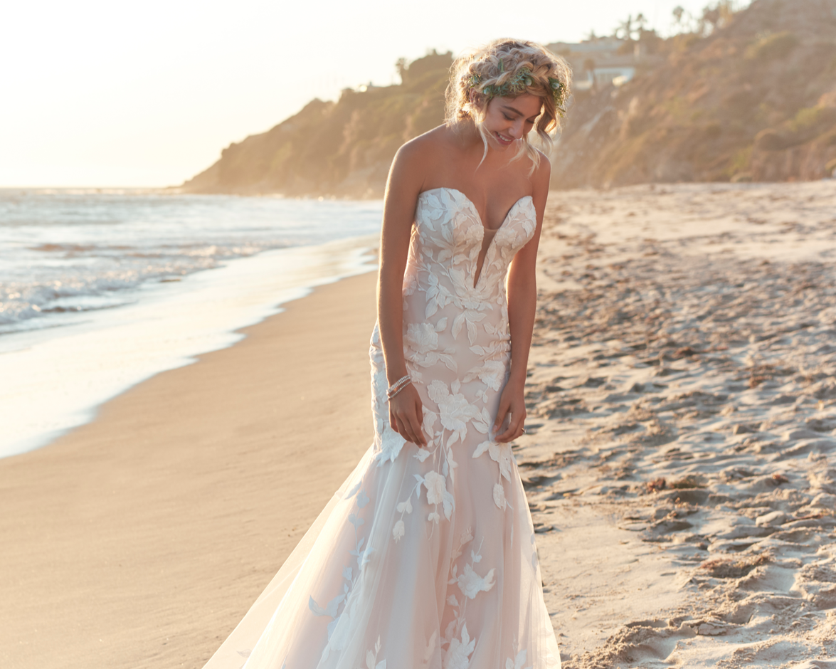 Mermaid Wedding Dresses By Maggie Sottero
