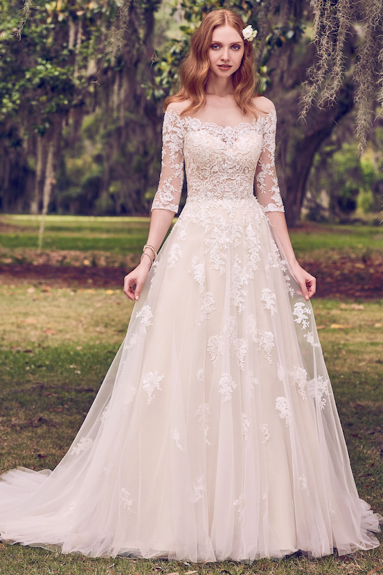 Off White Wedding Dresses By Maggie Sottero